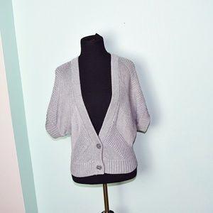 Super Cute Grey Knit Cardigan